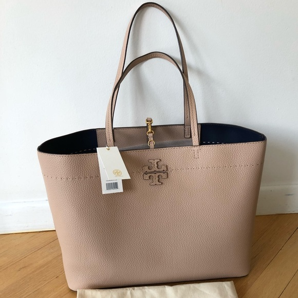d7dc29ea7d70 NWT Tory Burch Authentic McGraw Tote